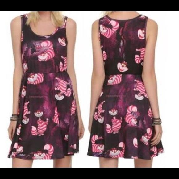 48996401c Disney Dresses & Skirts - Disney Juniors Cheshire Cat Skater Dress
